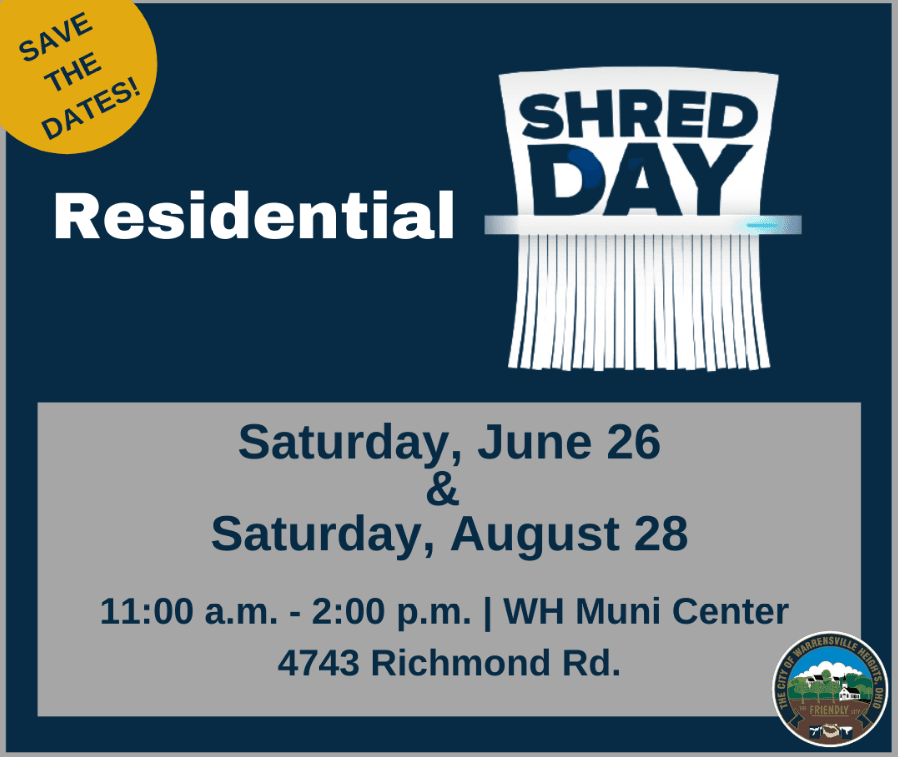 shred day social media w logo