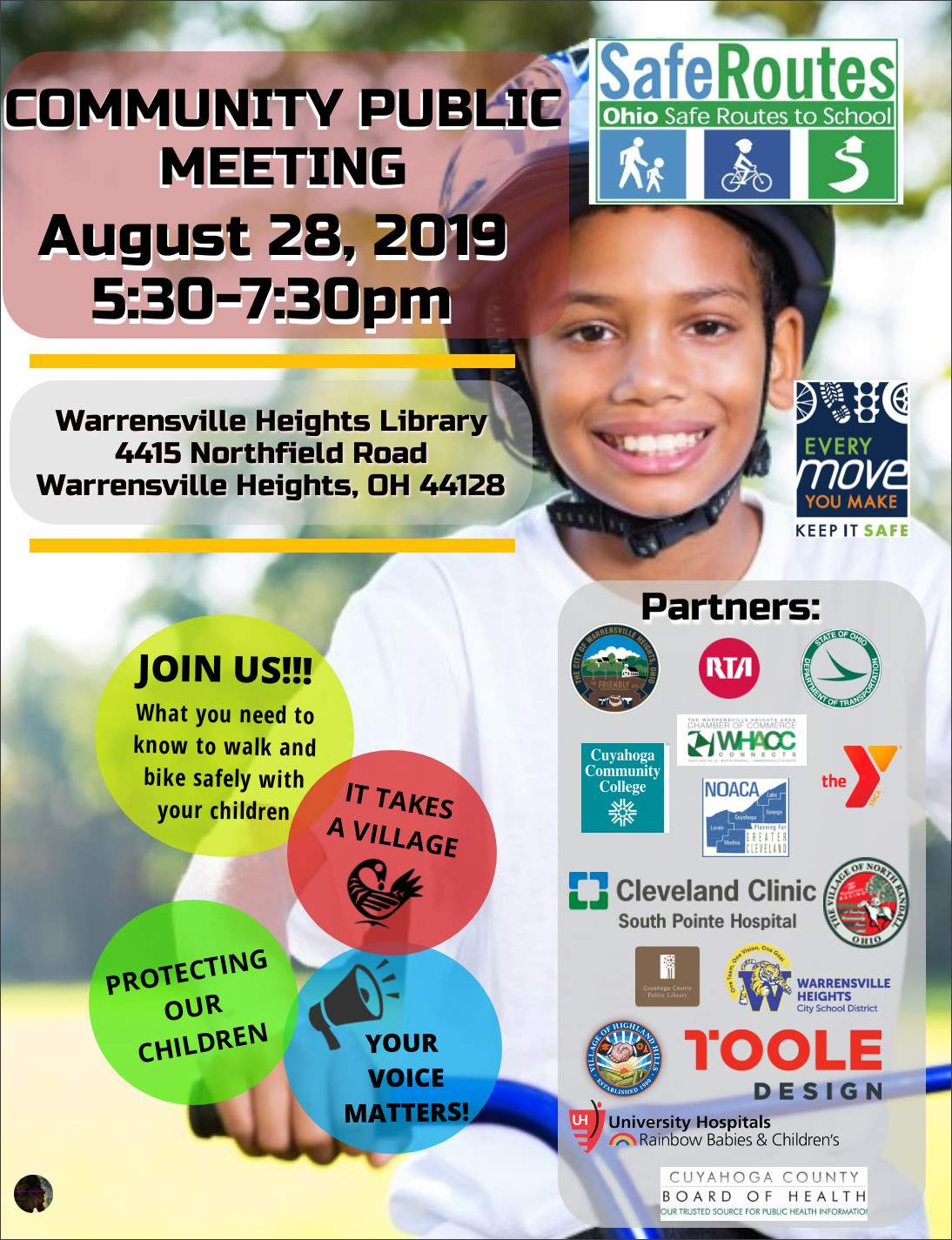 Safe Routes Meeting