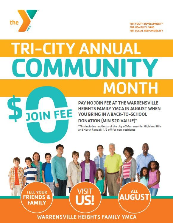 tri-City month at YMCA