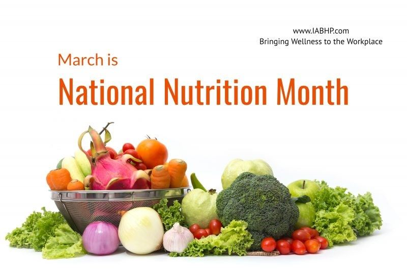 nutrition march month