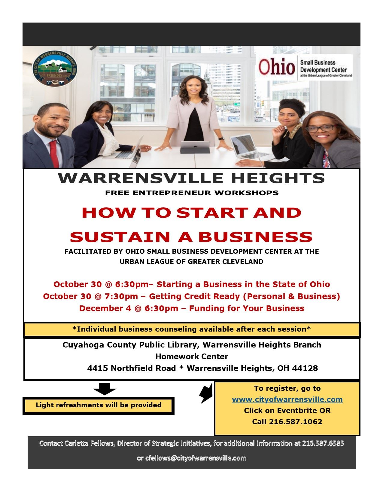 WH Entrepreneurial Workshop Flyer - Final 2